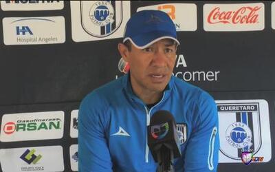 Ignacio Ambríz: 'Quiero que el equipo muestre la cara que teníamos antes'