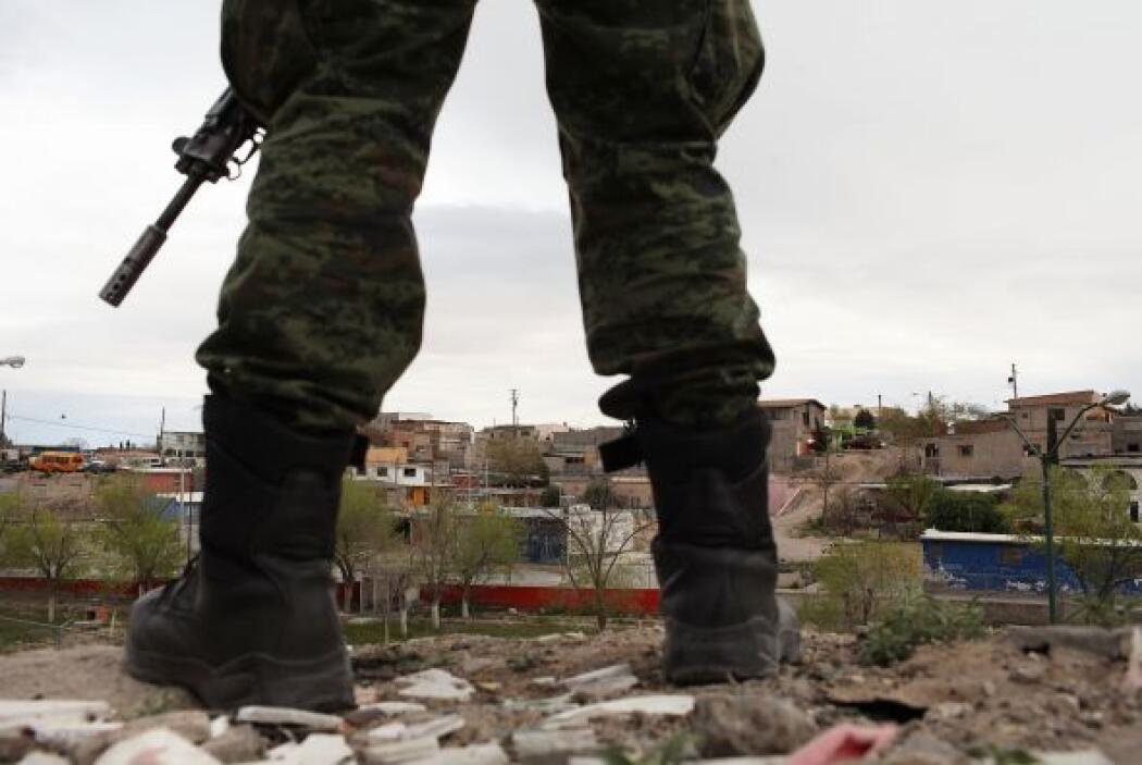 El gobierno mexicano reforzó la presencia militar y de policías federale...