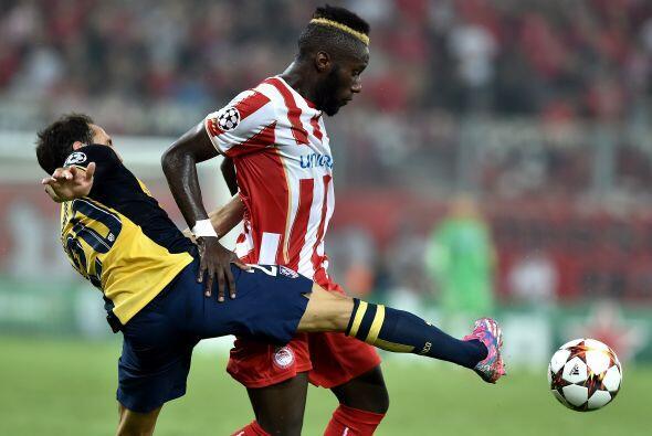 En Grecia el Atlético de Madrid, actual subcampeón, sufrió con los error...