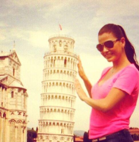 """""""Pisa"""", mostró Ana Patricia González. (Agosto 8, 2013)"""