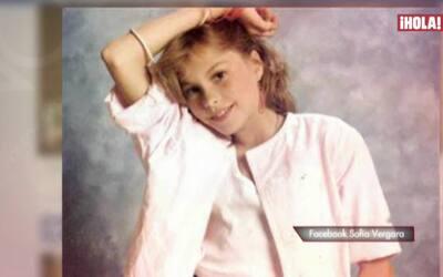 La infancia de Sofía Vergara