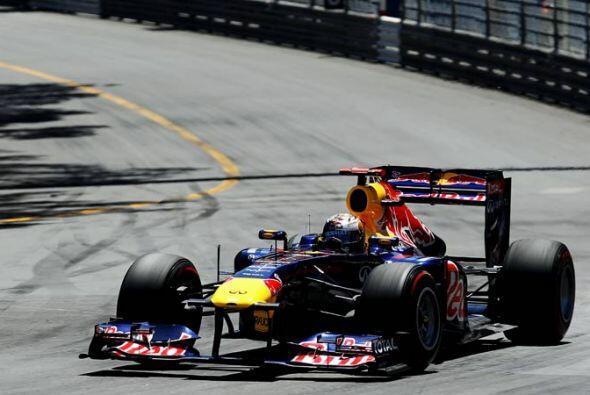 La superioridad del Red Bull fue evidente desde el arranque de la carrer...