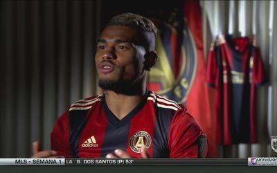 Josef Martínez desea que el Atlanta United sea conocido en todo el mundo