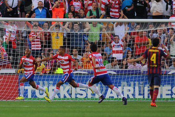Yacine Brahimi anotó a los 15 para frustrar más a los catalanes y, de pa...