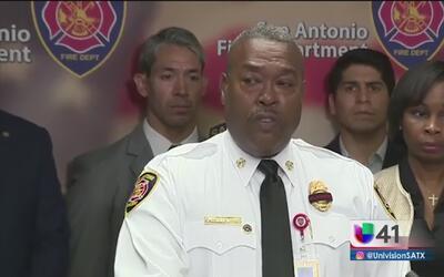 Cuerpo de bomberos de San Antonio lamenta la muerte de uno de sus elementos