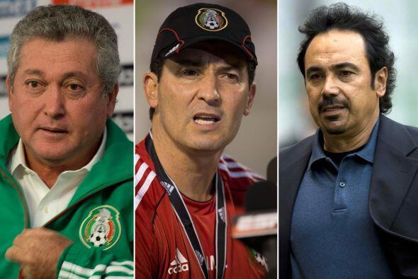 José Manuel de la Torre, Víctor Manuel Vucetich, Ricardo La Volpe, Manue...