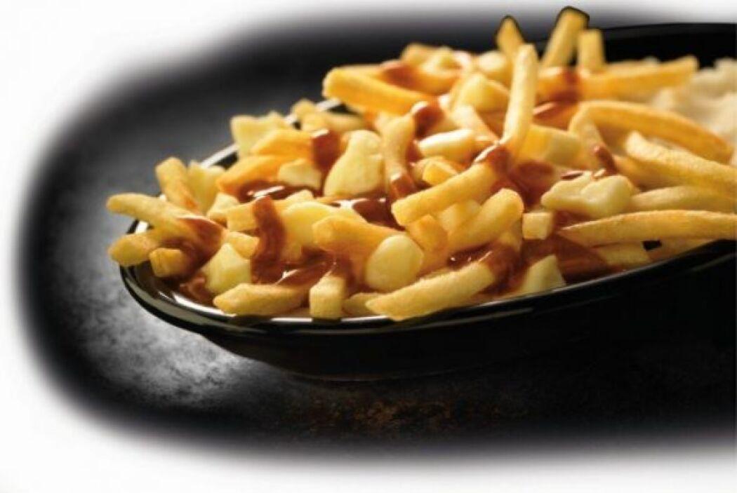 Canada - Poutine! Canadá ha tomado un giro en deliciosas patatas fritas...