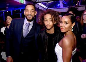 Will, Jada y Jaden Smith