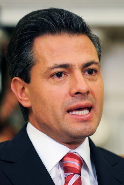 Por su parte, el presidente electo Enrique Peña Nieto, agradeci&o...