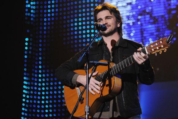 Con el talento que lo caracteriza, Juanes entregó el alma en el e...