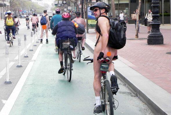 San Francisco se desnuda con motivo del Día de la Tierra | El 22 de abri...