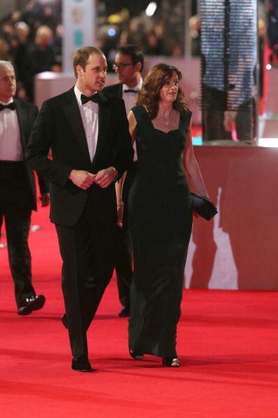 La realiza estuvo presente en los BAFTA con la presencia del Príncipe Gu...