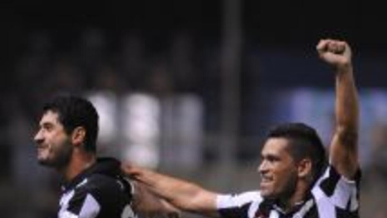 Libertad festejó y con ganas en su propia cancha tras venver s Palmeiras...