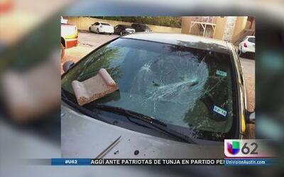 Comunidad al norte de Austin denuncia vandalismo