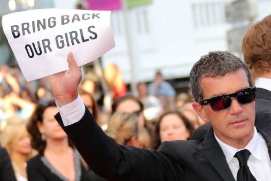 """El eslogan """"Bring Back Our Girls"""" ha sido utilizado ya en redes sociales..."""