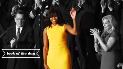Una vez más sorprenda la primera dama con sus apuestas estilísticas.