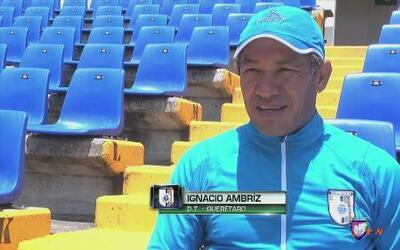 """Ignacio Ambriz: """"El primer objetivo es calificar"""""""