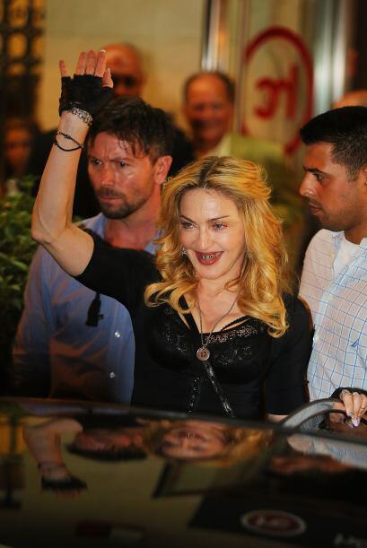 Cuando pensábamos que nadie podía verse peor que las demás, salió Madonn...