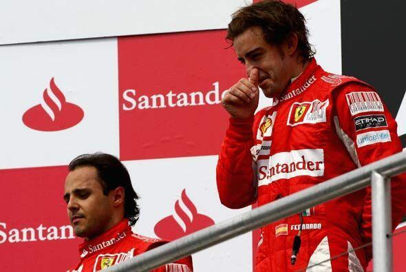 Alonso quedó en 5to. puesto de la clasificación y dej&oacu...