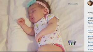 Baby Kamilia conquista a Instagram