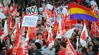 Cientos de miles protestaron en Europa contra las políticas de ajuste ec...