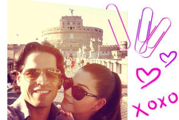 Sus vacaciones en Europa fueron inolvidables y cuenta que Luis le pidió...