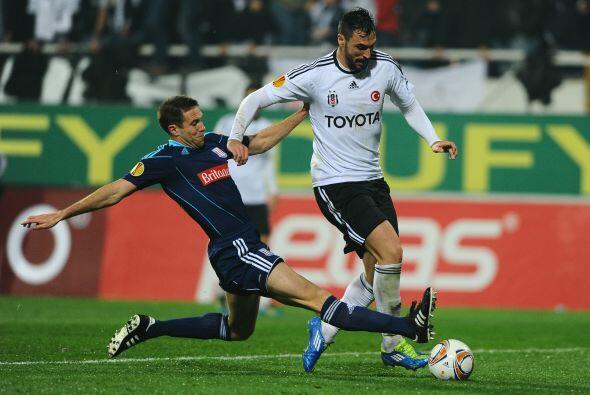 En el mismo grupo de los dos clubes antes mencionados, el Besiktas no tu...