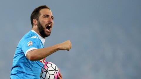 Juventus hace oficial el fichaje de Higuaín