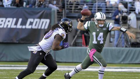 Jets requirió de Fitzpatrick y el veterano entró para remontar a los Ravens