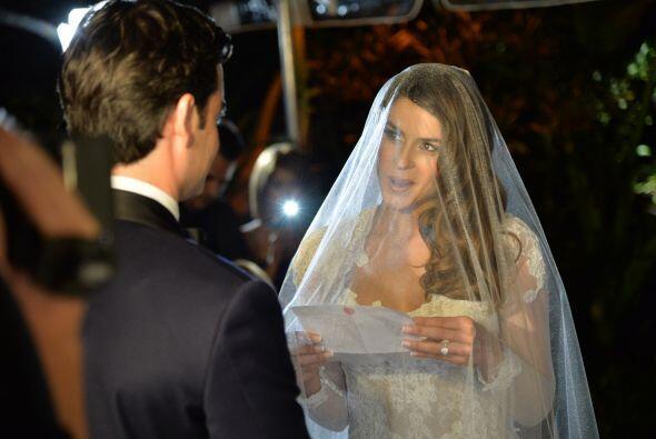 Vanessa también respondió segura de casarse con el hombre...
