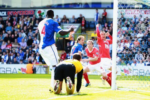 Blackburn empató 1 a 1 con el Birmingham.