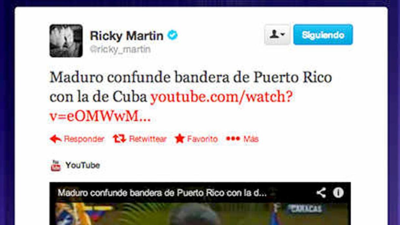 Nicolás Maduro confunde la bandera de Puerto Rico con la de Cuba en la e...