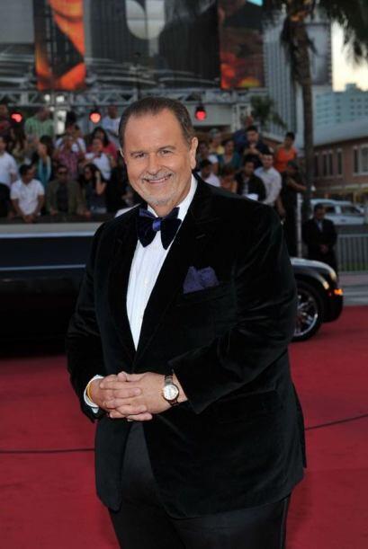 Raúl 'El Gordo' de Molina llegó muy elegante a la alfombra roja de Premi...