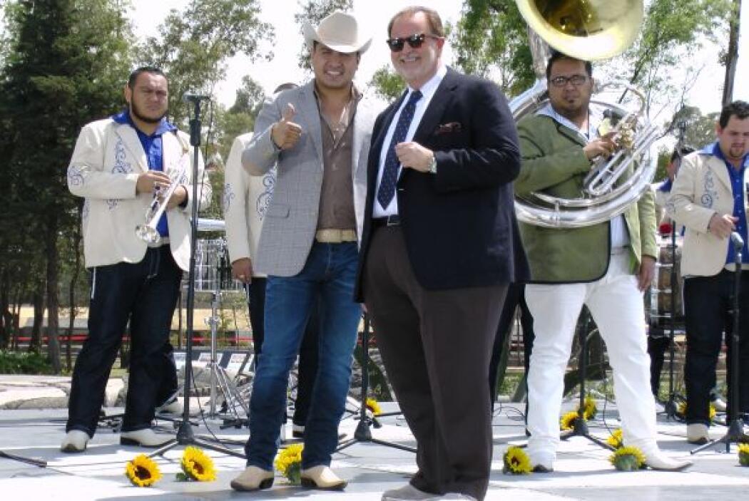 Recientemente, el cantante se presentó en Estados Unidos frente a un púb...
