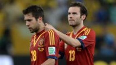 Los españoles estan de vuelta en su país apenas un día después de haber...