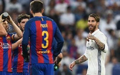 """Ramos vs. Piqué: """"Ellos siempre hablan de los árbitros, pero nosotros no..."""