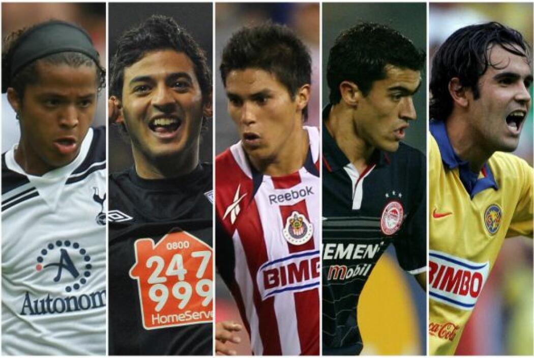 Estos futbolistas mexicanos han buscado establecerse en el fútbol europe...
