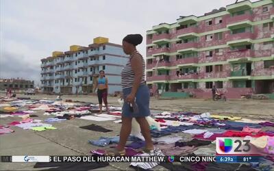 Cubanos cuestionan respuesta del régimen castrista al huracán Matthew