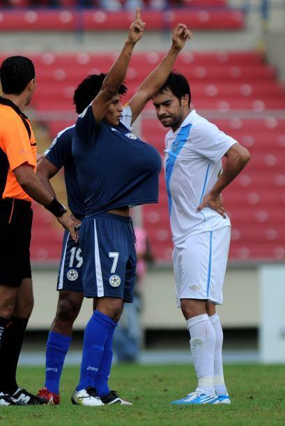 Los nicaragüenses se habían ido al frente en el marcador.