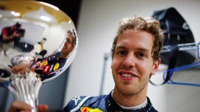 Sebastian Vettel ganó el primer Gran Premio de india de la historia.