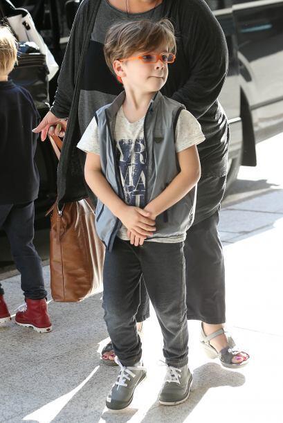 Y Matteo con sus anteojos rojos.