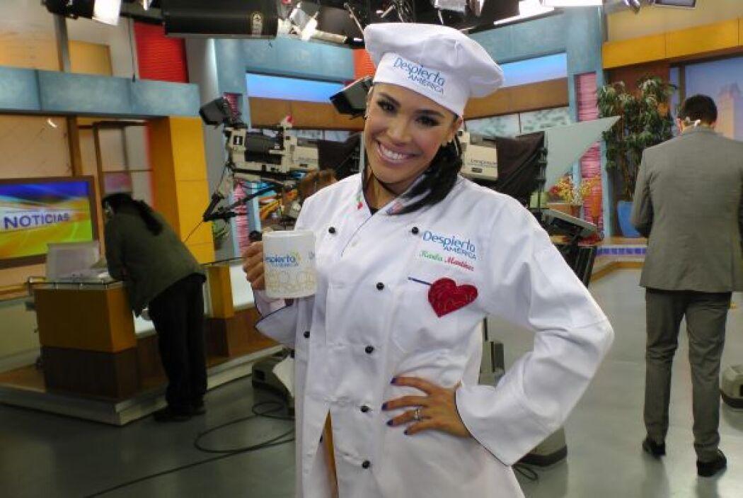 Nos encanta verla cocinar y probar las delicias de La Cocina de Karla.