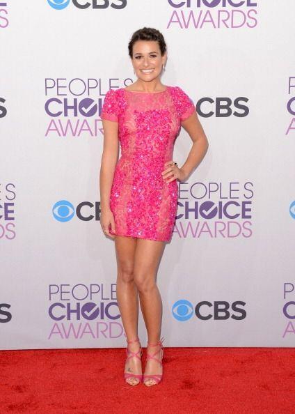 ¡Lea Michele olvidó que iba a la entrega de unos premios y...