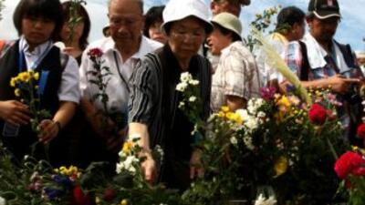 Decenas de miles de personas conmemoraron el bombardeo nuclear de Hirosh...