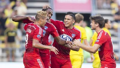 FC Dallas triunfo sobre Columbus