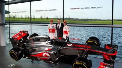 Sergio Pérez y Jenson Button buscarán el campeonato a bordo del nuevo Mc...