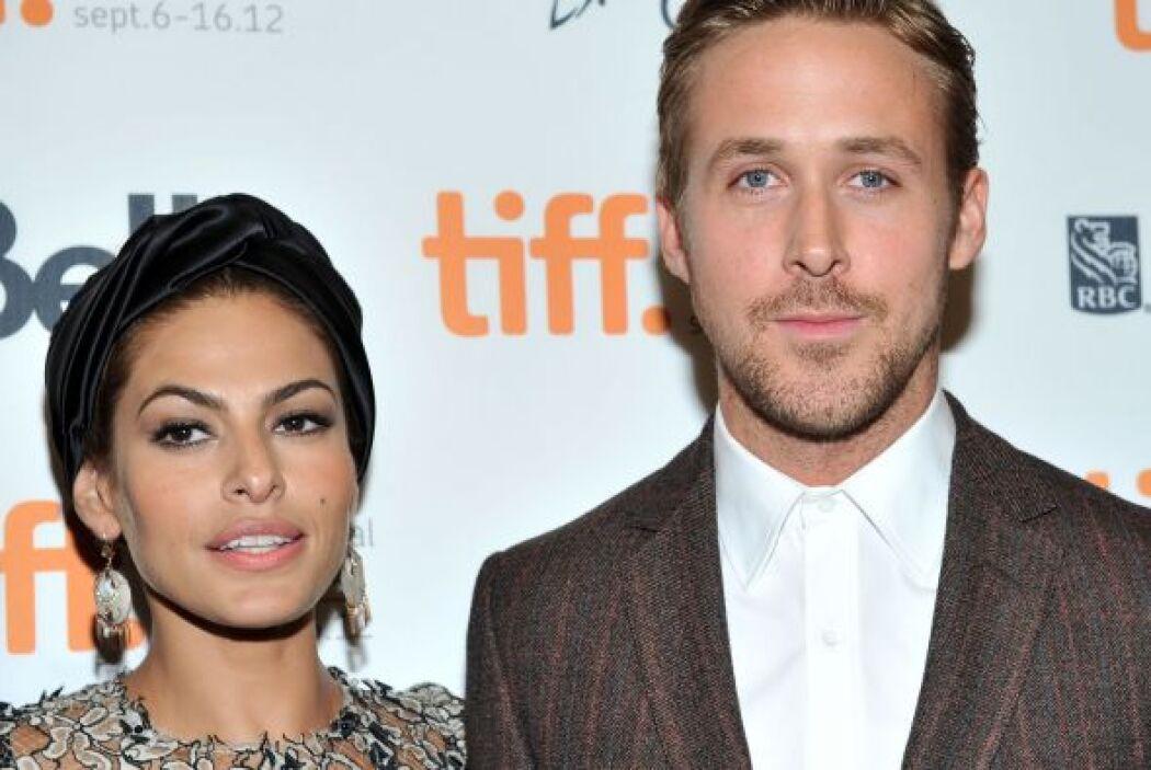La latina Eva Mendes tiene 39 años, mientras que su amorcito, el galán d...