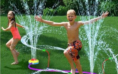 Sólo agrégale agua: juegos para el verano