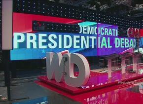 Candidatos demócratas se enfrentan en Las Vegas en su primer debate elec...