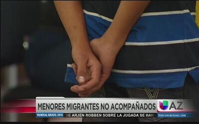 Situación de niños mexicanos no acompañados